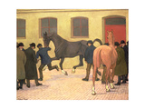 Showing at Tattersalls Giclee Print by Robert Polhill Bevan