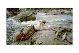 On His Holidays, Norway, 1901 Giclee Print by John Singer Sargent