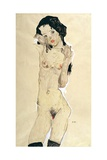 Nude, 1910 Giclee Print by Egon Schiele