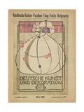 Deutsche Kunst Und Dekoration, May 1902 Giclee Print by Margaret MacDonald