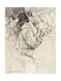 Dorsal Gunner in a Wellington Bomber, 1943 Giclee Print by Paul Goranson