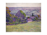 A Devonshire Valley, Number 1 Giclee Print by Robert Polhill Bevan