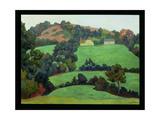 Landscape Giclee Print by Robert Polhill Bevan