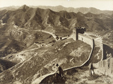 Great Wall of China, 1907 Photographic Print by Herbert Ponting