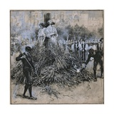 The Martyrdom of Robert Testwood Giclee Print by Walter Stanley Paget