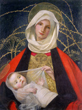 Madonna and Child, 1907-08 Giclée-tryk af Marianne Stokes