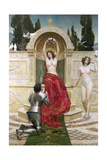 In the Venusburg (Tannhauser), 1901 Giclee Print by John Collier