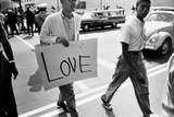 The March on Washington: Love, 28th August 1963 Photographic Print by Nat Herz