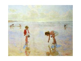Beach Scene Giclee Print by Charles-Garabed Atamian