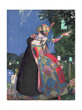 The Little Tongue of Columbine, 1913 Giclee Print by Konstantin Andreevic Somov
