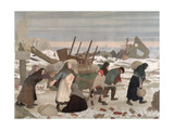 Returning to the Reconquered Land, c.1918 Giclee Print by Sir George Clausen