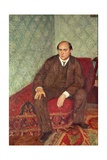 Portrait of Arnold Schonberg (1874-1951), c.1905-6 Giclee Print by Richard Gerstl