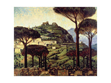 Campobasso, c.1945 Giclee Print by Charles Fraser Comfort