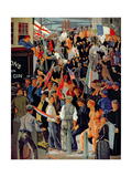 Armistice Day, 1919 Giclee Print by Frederick Etchells