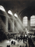 Holiday Crowd at Grand Central Terminal, New York City, c.1920 Photographic Print by  American Photographer
