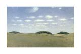Landscape from Lejre, 1905 ジクレープリント : ヴェヘルム・ハマーショイ
