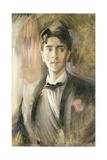 Portrait of Jean Cocteau (1889-1963) Giclee Print by Frederico de Madrazo