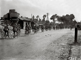 English Soldiers on Bicycles Photographic Print by Jacques Moreau