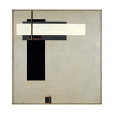 Composition Proun GBA 4, c.1923 Giclee Print by Eliezer Markowich Lissitzky