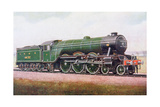 The 'Flying Scotsman' of the London and North Eastern Railway, Illustration from 'The Book of the… Giclee Print by  English School