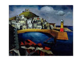The Harbour, 1926 Giclee Print by Christopher Wood