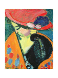 Lowered Head, 1909 Giclee Print by Alexej Von Jawlensky