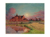 The Manor of Kervandu, c.1910 Giclee Print by Fernand Loyen du Puigaudeau