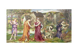 The Cadence of Autumn, 1905 Giclee Print by Evelyn De Morgan
