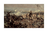 The Second Battle of Ypres, 1917 Giclee Print by Richard Jack