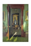 Interior, Rutland Lodge: Vista Through Open Doors, 1920 Giclee Print by Patrick William Adam