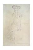 Seated Woman, 1908 Giclee Print by Gustav Klimt