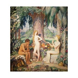 The Creation, 1921 Giclee Print by George Spencer Watson