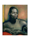 Study of a Negro Giclee Print by Glyn Warren Philpot