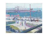 Brighton Pier, 1913 Giclee Print by Spencer Frederick Gore