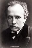Richard Strauss Photographic Print by Albert Meyer