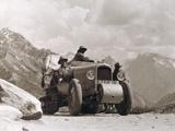 On the Gilget Road in Kashmir, 1931-32 Fotografisk trykk av Georges-Marie Haardt