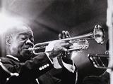 Louis Armstrong (1900-71) Reproduction photographique par  American Photographer