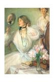 Lady Flora Giclee Print by Edmund Joseph Sullivan
