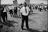 The March on Washington: 'We Demand an End to Bias Now', 28th August 1963 Photographic Print by Nat Herz