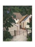 Field's Farm, Somerset Giclee Print by Robert Polhill Bevan