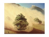 Tank Advance, Italy 1944, 1944 Giclee Print by Lawren Philips Harris
