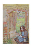 At the Orchard Gate, 1903 Giclee Print by Edward Clegg Wilkinson