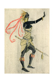 An African Fairy, 1921 Giclee Print by Claud Lovat Fraser