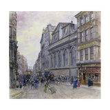 St. Peter's Cornhill and Gracechurch Street, London, 1900 Giclee Print by Henry Edward Tidmarsh
