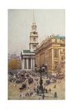 Trafalgar Square, 1912 Giclee Print by Henry Edward Tidmarsh