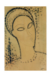 Head Giclee Print by Amedeo Modigliani