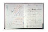 'The Rite of Spring', Original Score by Igor Stravinsky (1882-1971), 1913 Giclee Print