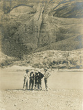 Prospectors Panning on the Colorado River in Glen Canyon, USA, 1901-05 Photographic Print by Charles C. Pierce