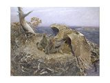 Sea Eagle's Nest, 1907 Giclee Print by Bruno Andreas Liljefors