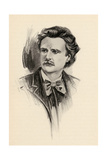 Edvard Grieg (1843-1907) Illustration from 'The Lure of Music' by Olin Downes, 1922 Giclee Print by Chase Emerson